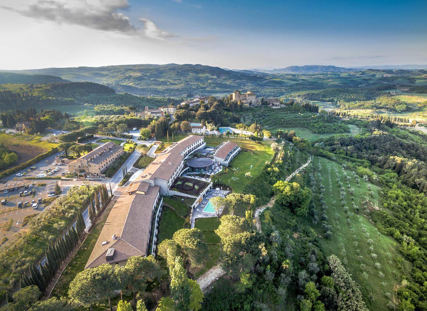 Resort 5 stelle Il Castelfalfi, Montaione (FI)