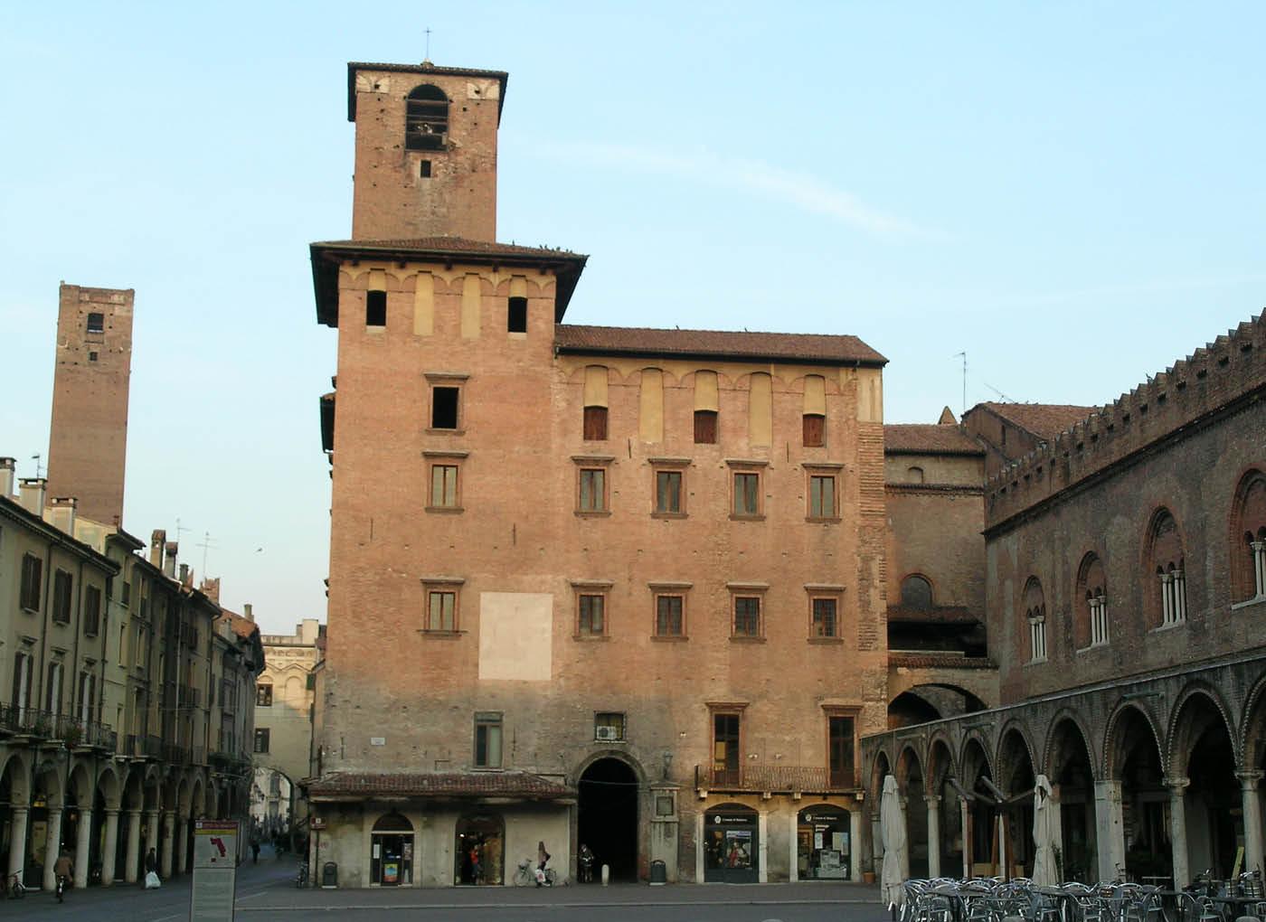 Sottofondo CentroStorico Calce per il Palazzo del Podestà a Mantova