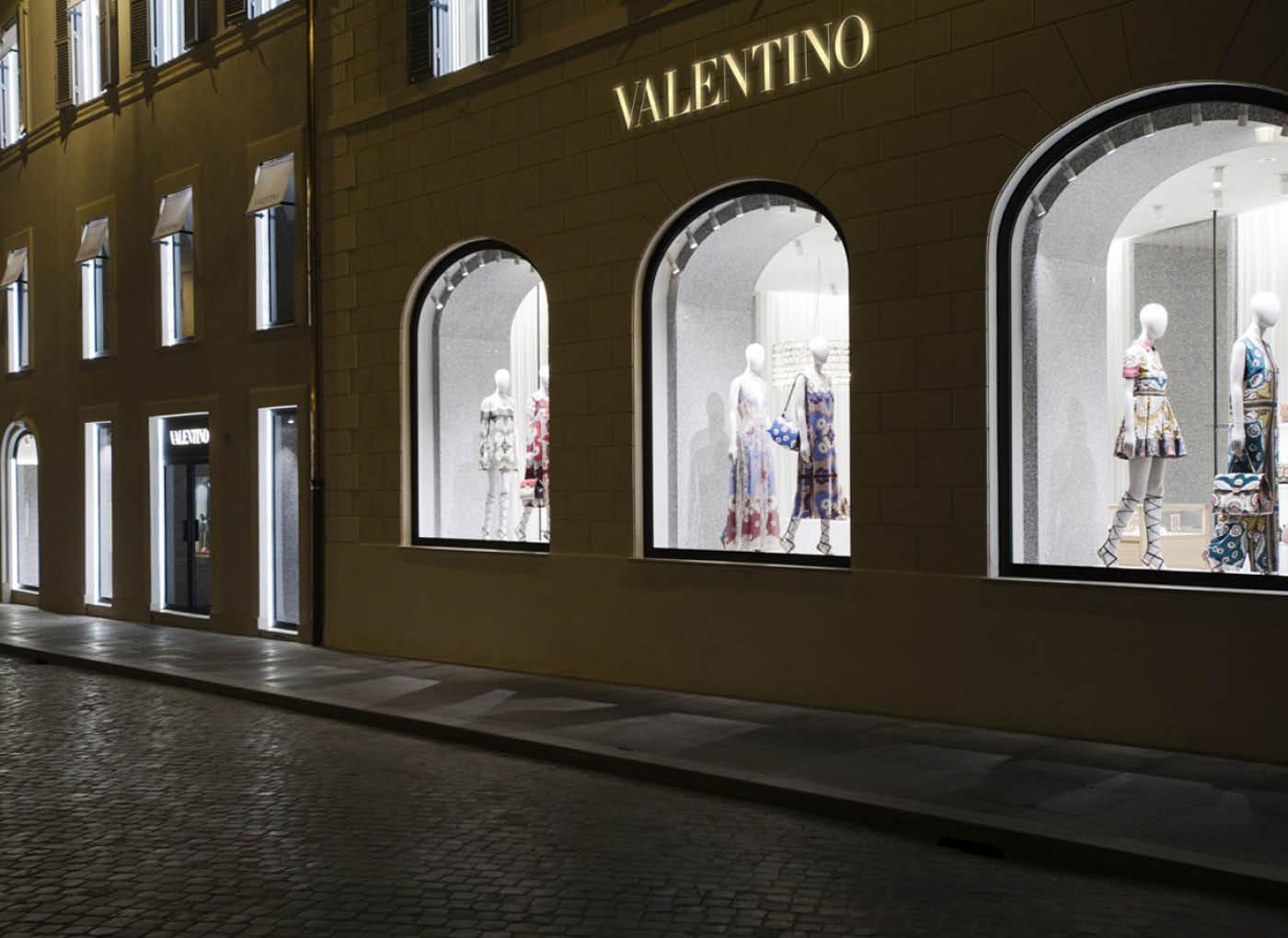 Boutique Valentino a Roma