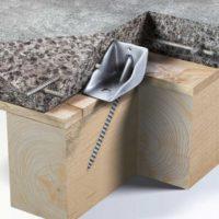Connettore Legno: Connettore per rinforzo solai in legno