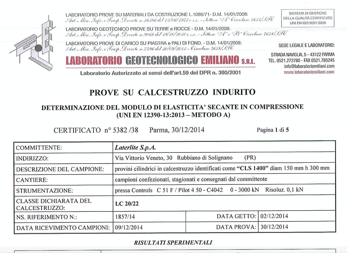 modulo-elastico-leca-cls-1400