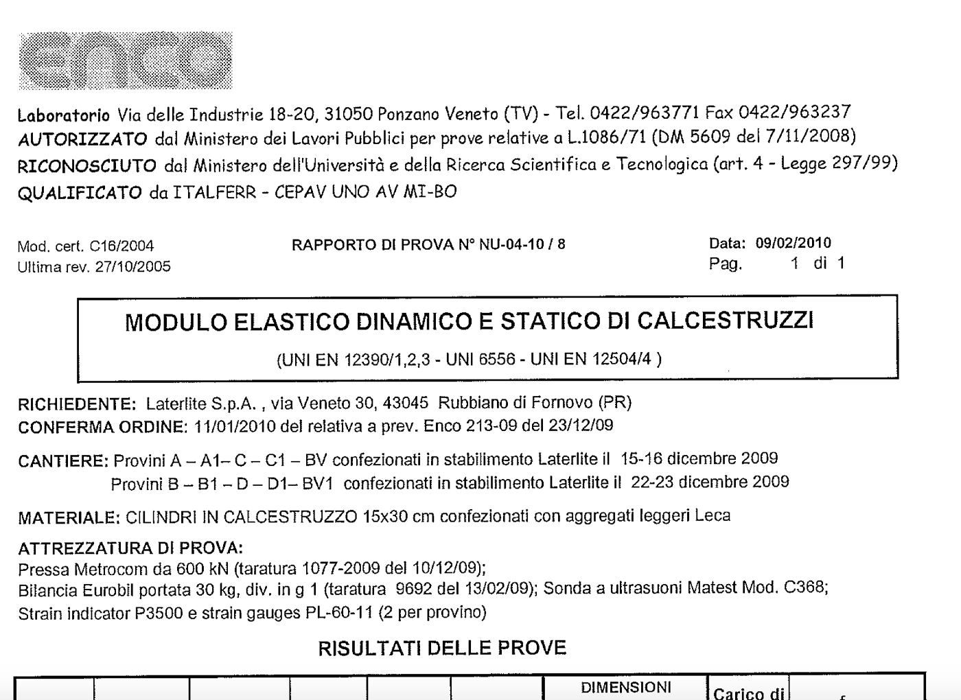 modulo-elastico-leca-cls-1800