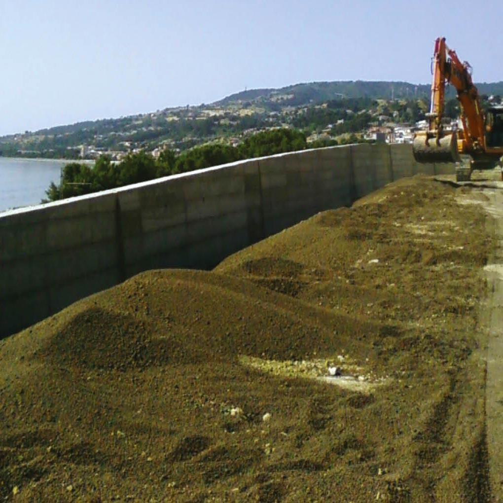 Muri e opere di sostegno, strutture di contenimento