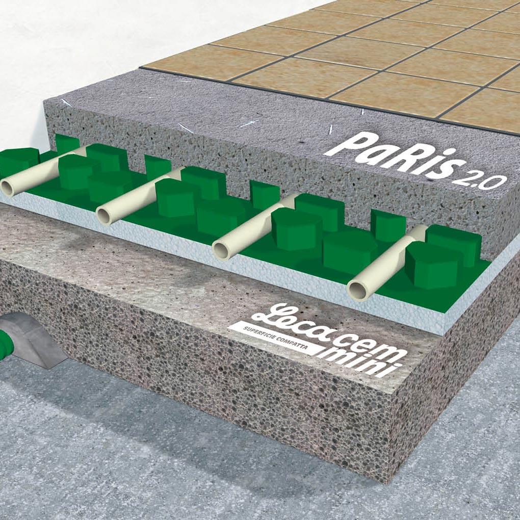 Riscaldamento a pavimento: impianto e soluzioni