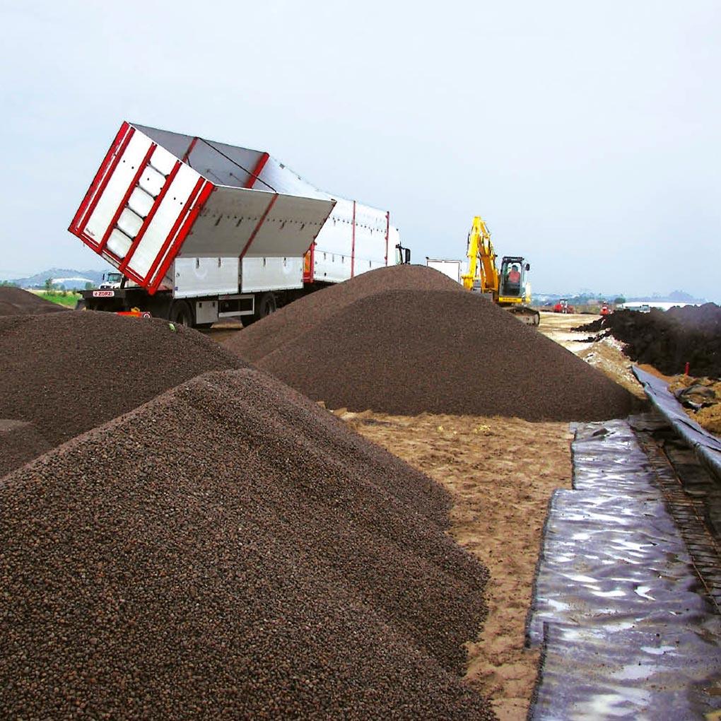 Caratterizzazione geotecnica dell'argilla espansa Leca