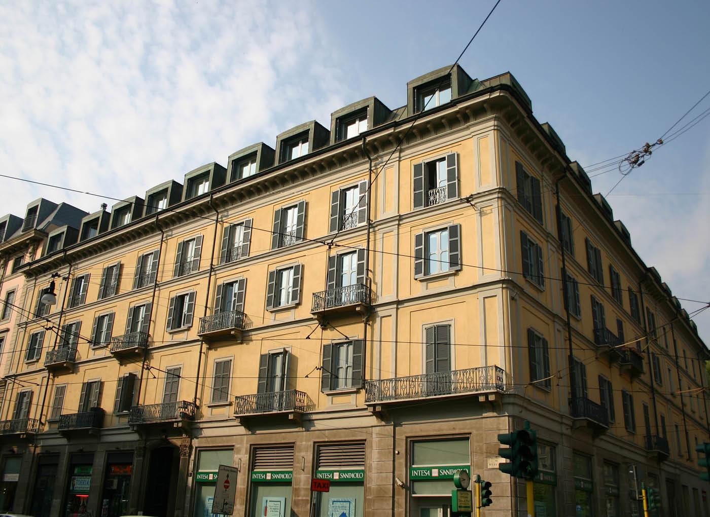 Ristrutturazione edificio residenziale – Milano
