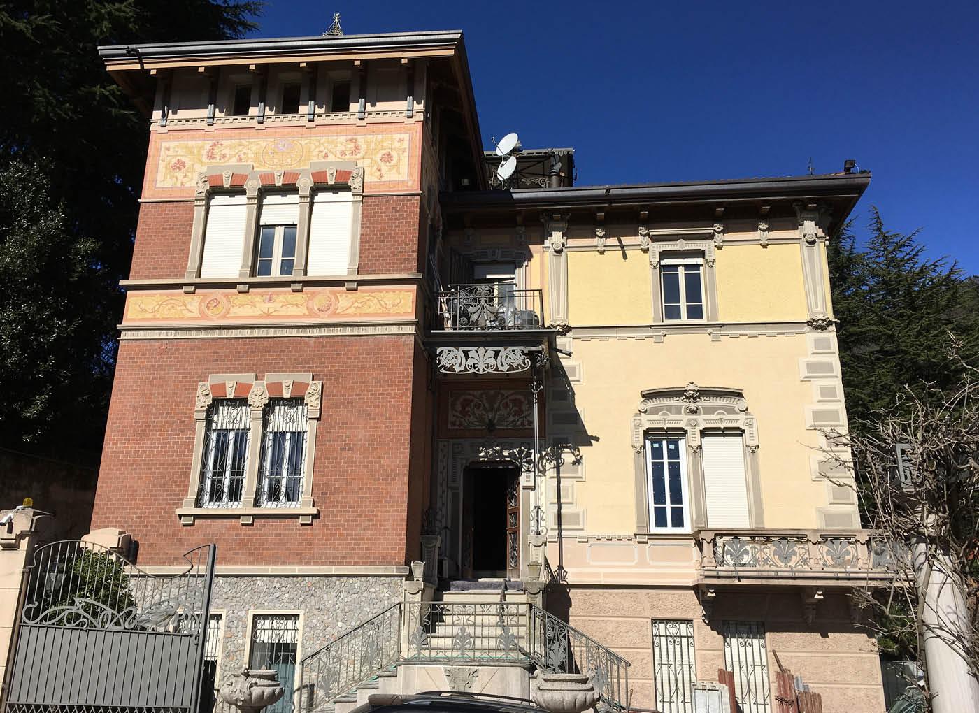 Ristrutturazione di villa a Varese