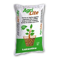 AgriLaterLite: argilla espansa per piante in vaso e fioriere
