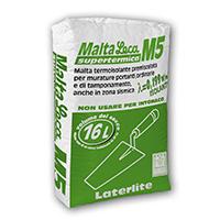 Malta Leca M5: Malta per muratura isolante premiscelata