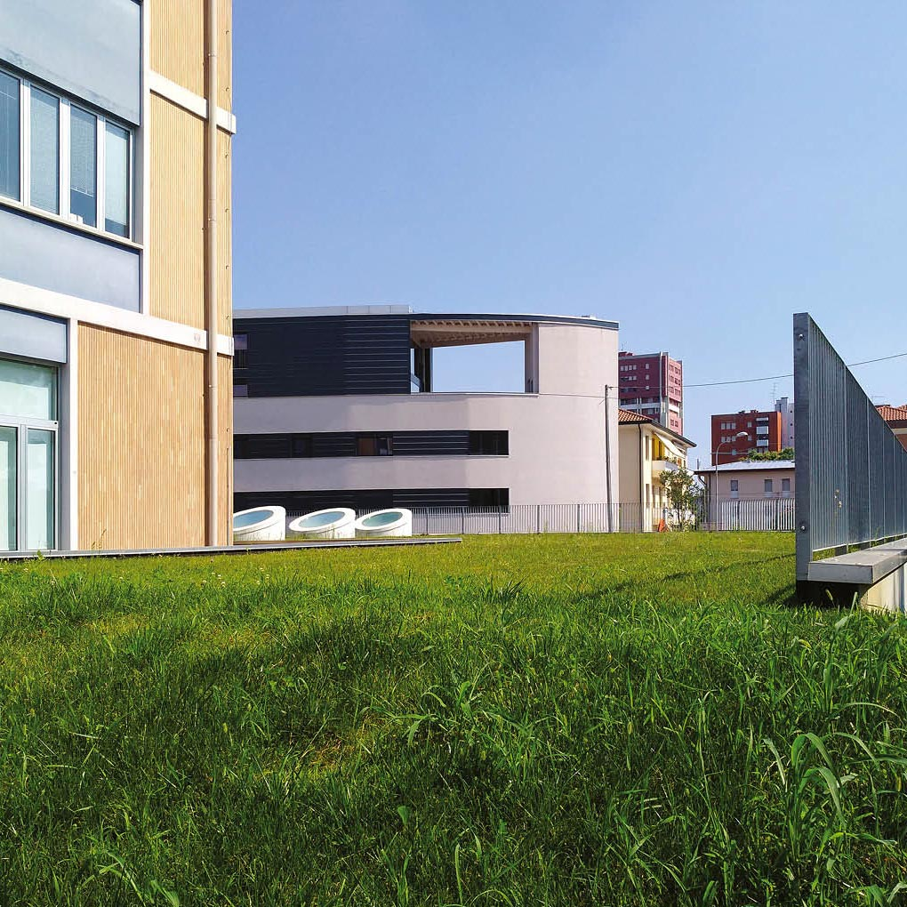 Substrato per tetti verdi