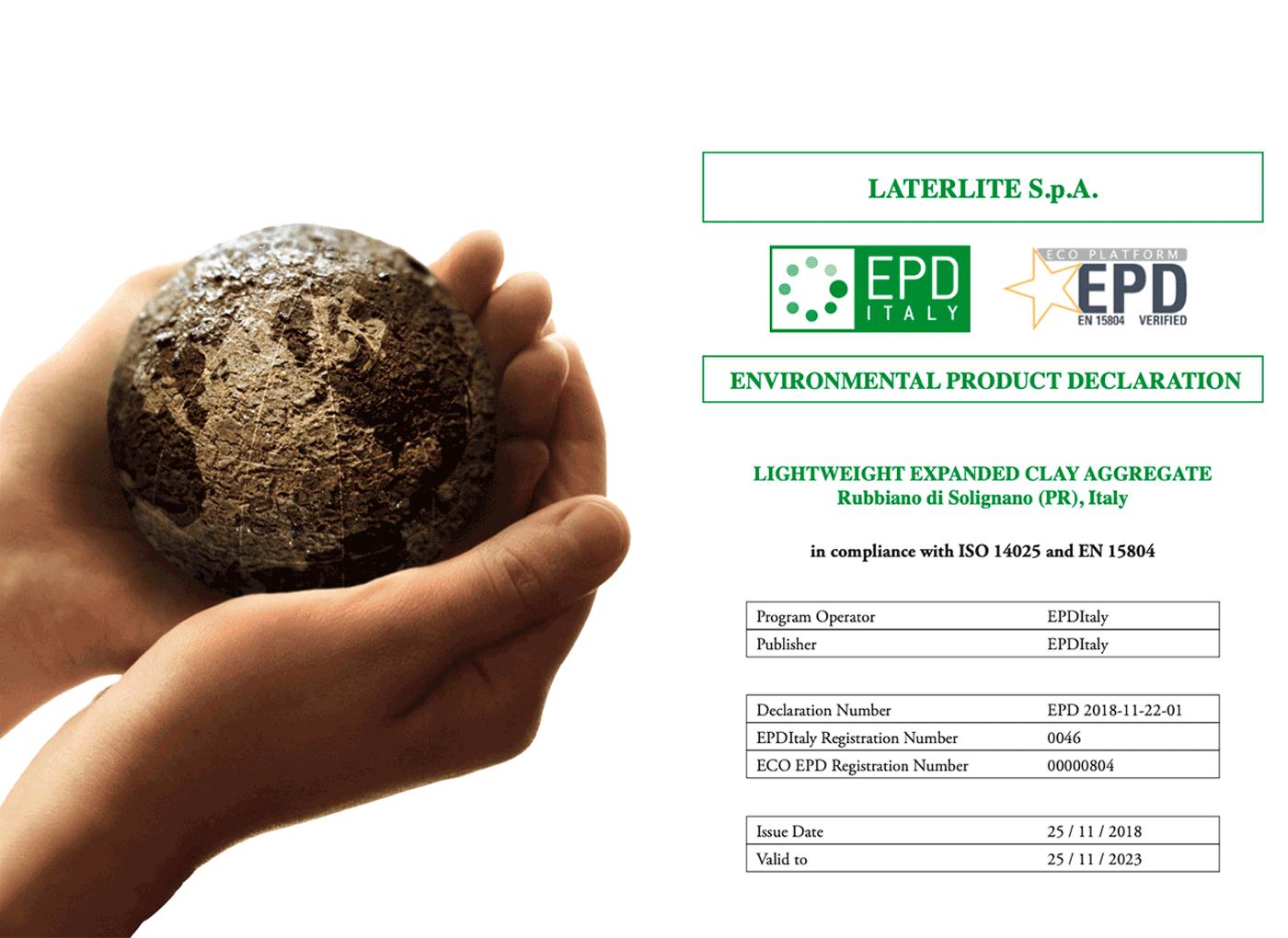 EPD-environmental-product-declaration-Laterlite