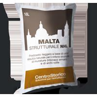 Malta Strutturale NHL: per intonaci e rinforzi a base calce idraulica naturale